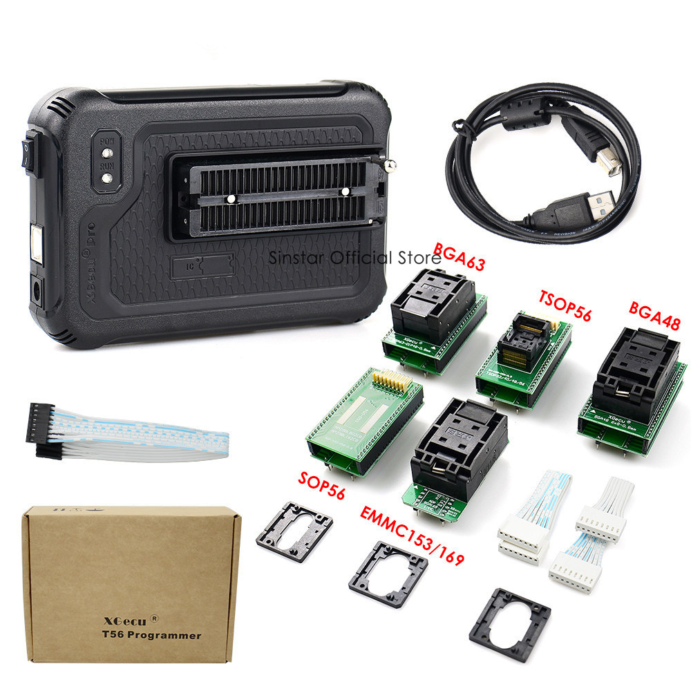 Image 2 - XGecu T56 Programmer 56 Pin Drivers ISP Support 21000+ with 22 adaptersCalculators   -