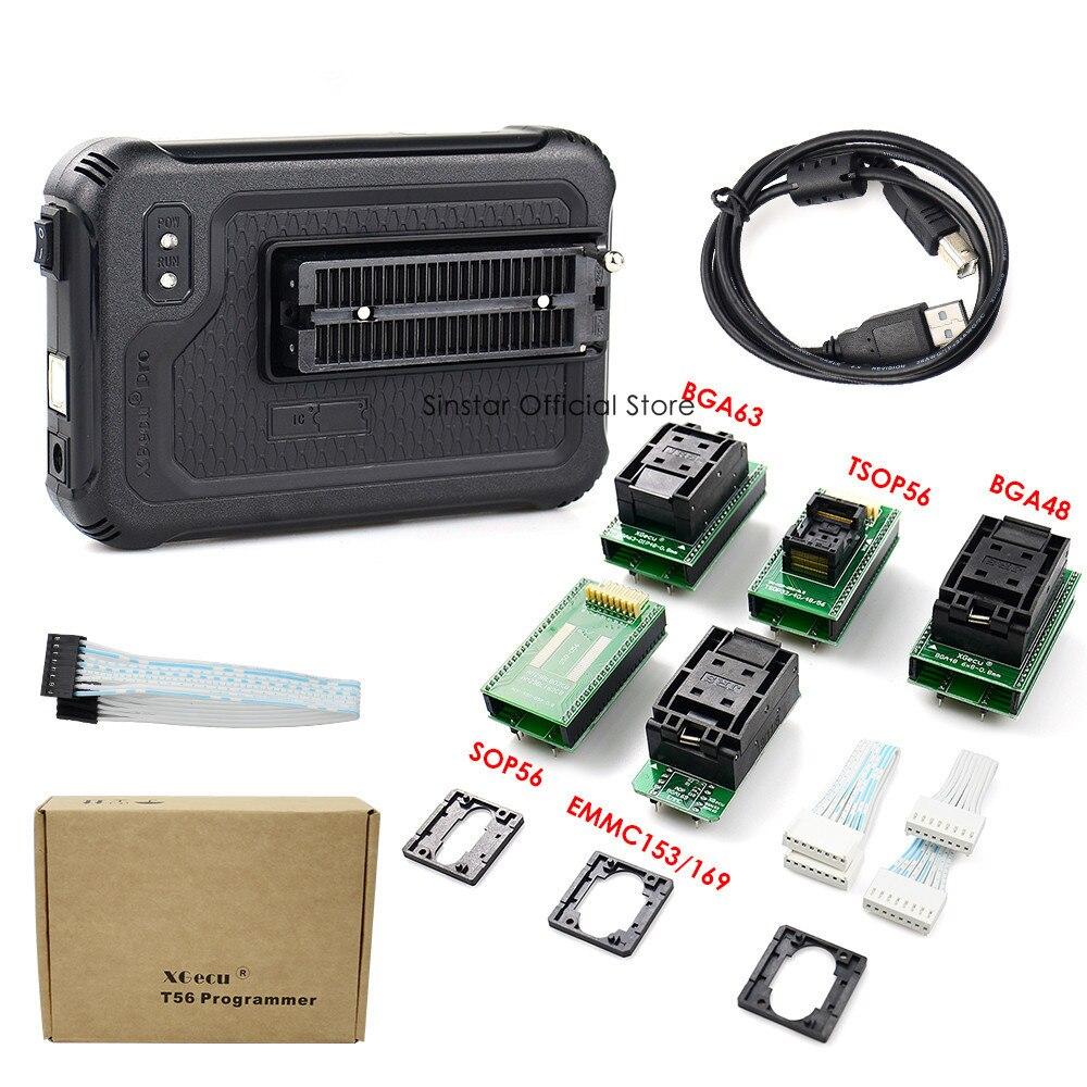 Image 2 - Xgecu t56 programador 56 pinos isp suporte 21000 + com 22 adaptadoresCalculadoras   -