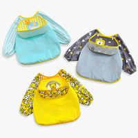 Детская отрыжка, нагрудники, водонепроницаемые, с длинным рукавом, для кормления, слюна, полотенце для новорожденных, фартуки, детская отрыж...