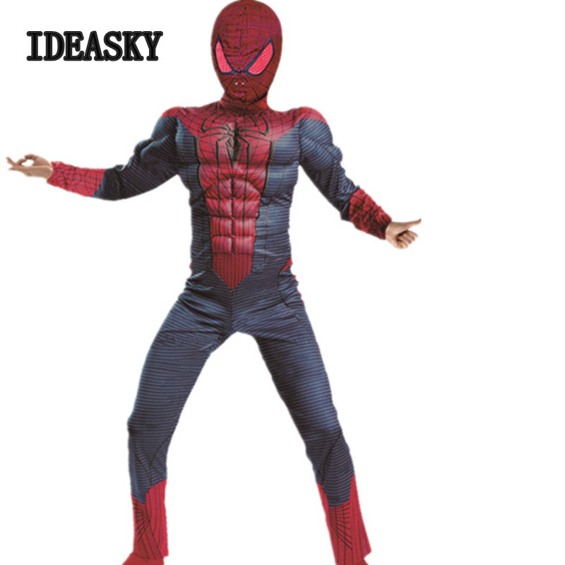 Kids Superhero Spiderman Costume Set Baby  Girl Toddler Fancy Outfits Halloween