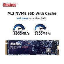 Kingspec M 2 Ssd M2 512gb PCIe NVME 1TB 2TB dysk półprzewodnikowy 2280 wewnętrzny dysk twardy hdd do laptopa Desktop Gaming High Speed tanie tanio PCI Express CN (pochodzenie) SM2262EN STAR1000P Read Up to 2400MB s Write Up to 1700mb s(for your reference only) Pci-e