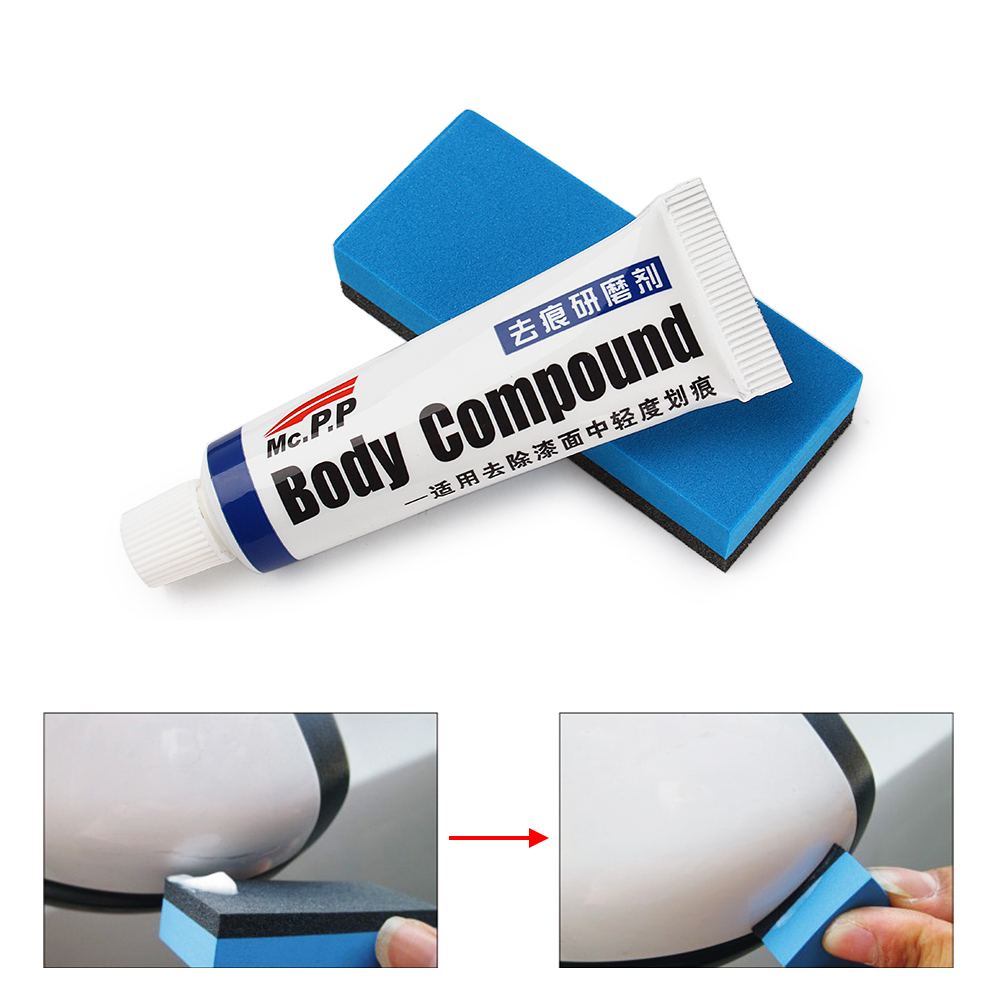 Car-styling Fix It Pro MC308 Scratching Repair Kit With Sponge Cars Polishing Body Compound Wax Paint Auto Accessories