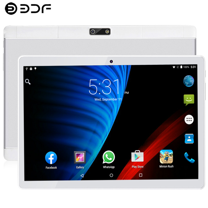 New System 10.1 Inch Tablet 4G/3G Phone Call 8GB-128GB Android 9.0 Bluetooth Ten Core 1.5GHz Dual SIM Support Tablet PC
