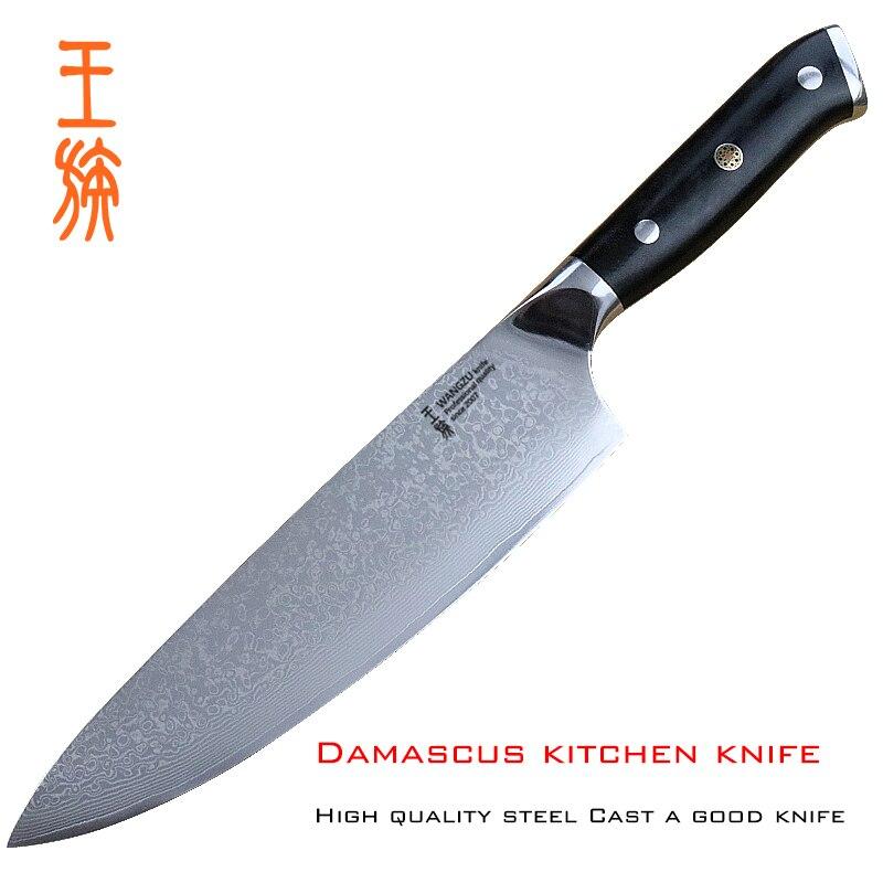 8 polegada alta qualidade chef faca de cozinha faca de Aço De Damasco faca Santoku Japoneses cleave de carne cozinhar ferramentas ferramentas acessórias