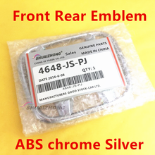 3D ABS Хром Передняя головка капота эмблема логотипа заднего багажника бампера багажника значок наклейка для детской одежды аксессуары