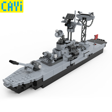 427pcs Military Series Warship Vehicle Fighter Compatible Army Soldiers Bricks Toys  LegOINGs War City Building Blocks
