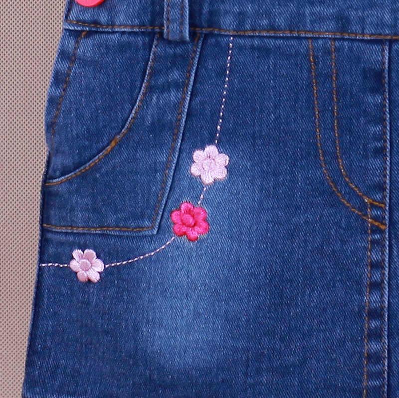 IENENS Zomer Meisje Jeans Rokken Kinderen Kids Meisjes Denim Rok Peuter Baby Jumper Rok 1-3Y