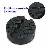 Black Jack Rubber Pads Equipment Supplies 2pcs Auto Universal Frame Floor