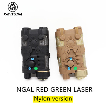 L3 NGAL Nylon version  Next Generation Aiming Laser Appearance Red or green Laser and flashlight For Hunting Airsoft Tactica