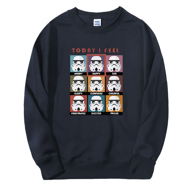 TODAY I FELL STAR WARS SWEATSHIRT (8 VARIAN)