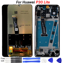 Original Screen For Huawei P30 Lite LCD display P 30 lite LCD Touch Screen Display Assembly frame for huawei p30 screen replace original a1534 lcd screen display assembly for macbook 12 a1534 2015 2016 a1534 lcd screen display assembly gray color
