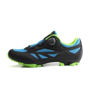 NewTIEBAO Men Cycling Shoes Breathable Self-Locking Mtb Shoes Mountain Bike Shoes Bicycle RacingTriathlon Sapatilha Ciclismo Mtb 11
