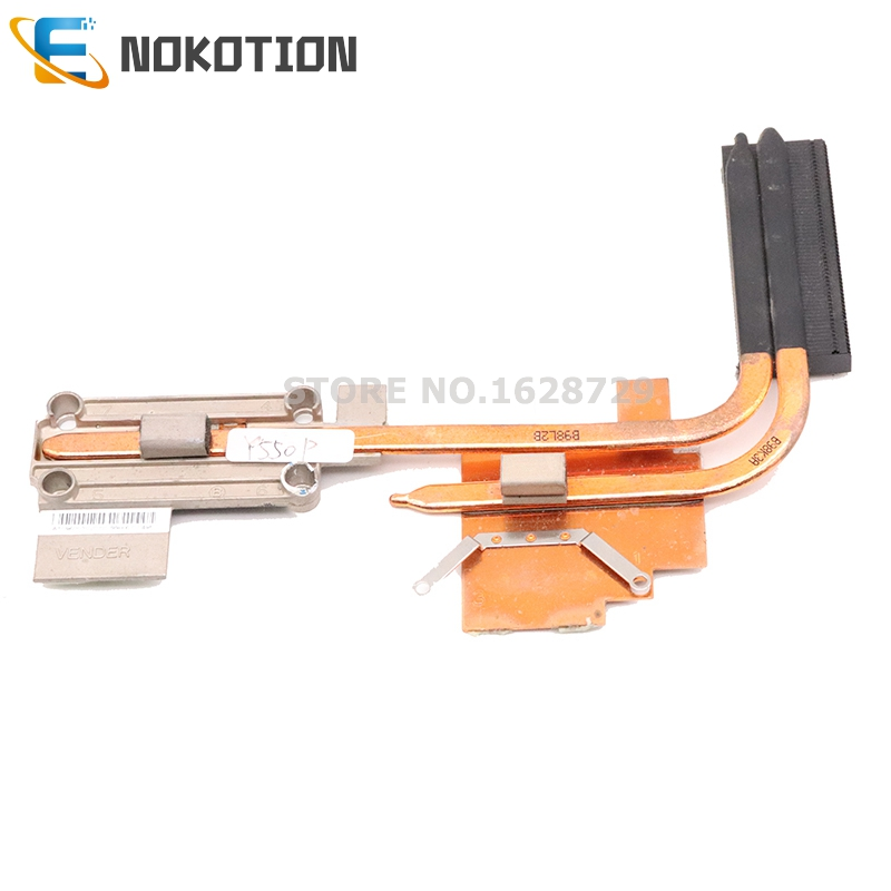 NOKOTION NIWBA LA-5371P AT0960030V0 Radiator for Lenovo ideapad Y550P laptop CPU <font><b>GPU</b></font> cooling heatsink image
