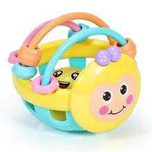 Мягкая резиновая игрушка для раннего развития детей 0 12 месяцев