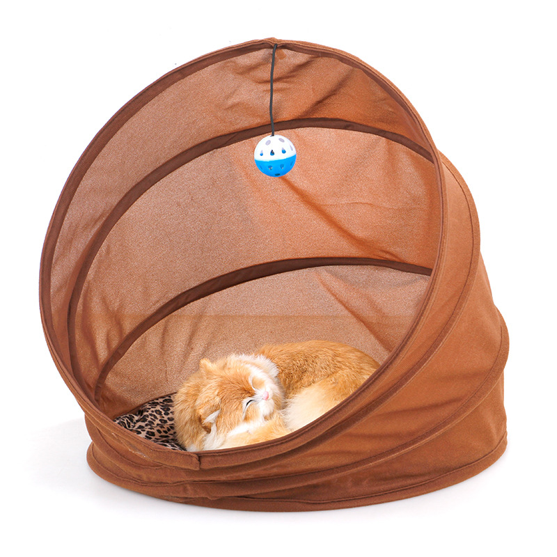Foldable Pet Channel Cat Nest Winter Multi-functional Cat Sofa Cat Tunnel Cat Toy Supplies