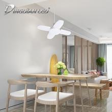 DINGDIAN LED E27 Foldable Bulb 110V 220V 48W Super Bright Cold White Night Markets Stalls Indoor Pendant Lamp Tube