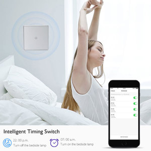 Image 2 - Wifi Thông Minh Tường Công Tắc Đèn Cảm Ứng Kính Cường Lực Tiêu Chuẩn EU Ứng Dụng Di Động Điều Khiển Từ Xa Làm Việc Với Alexa Google Nhà Cho tuya