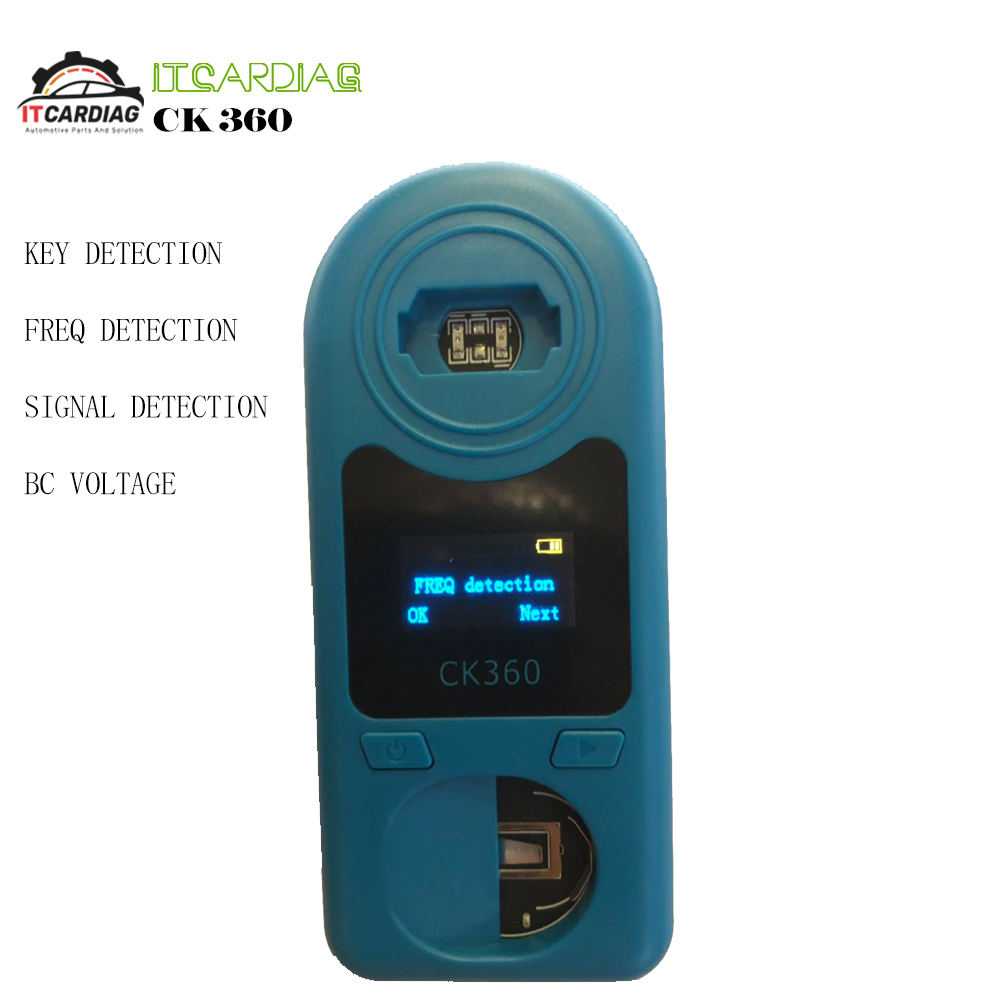 Auto <font><b>Key</b></font> Frequency Detector CK360 Easy Check <font><b>Remote</b></font> Control <font><b>Remote</b></font> <font><b>Key</b></font> <font><b>Tester</b></font> for Frequency 315Mhz-868Mhz & <font><b>Key</b></font> Chip & Battery image