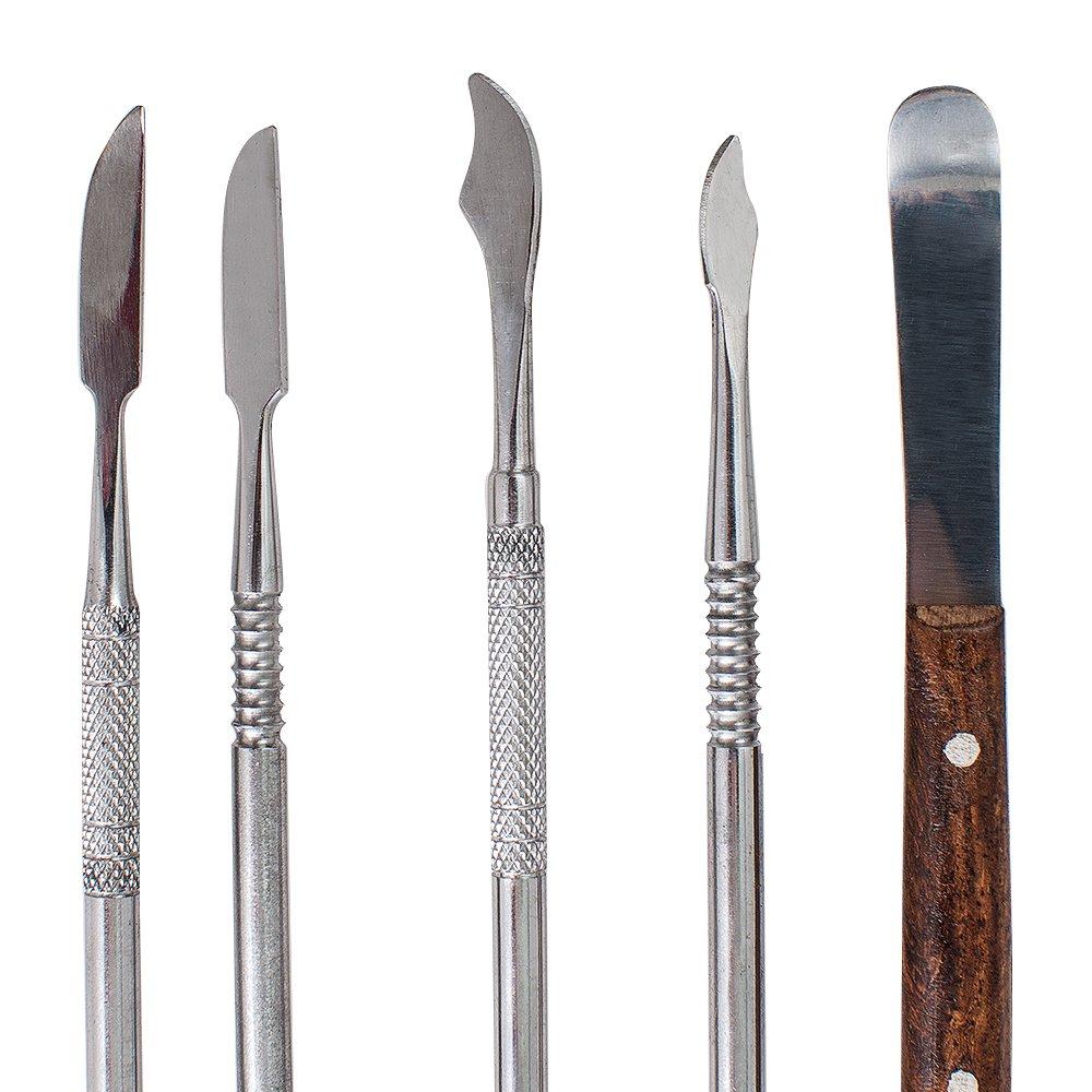 10pc faca de gesso espatula dental pratico 04