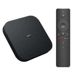 Oryginalny Xiao mi mi TV Box S ue podłącz 4K HDR Android TV 8.1 Ultra HD 2G 8G WIFI Google Cast Netflix-IPTV zestaw top odtwarzacz multimedialny Box 6