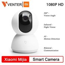 Global Version Xiaomi Mijia Upgraded Camera 1080P HD WiFi Pan Tilt Camera Night Webcam 360° Wireles