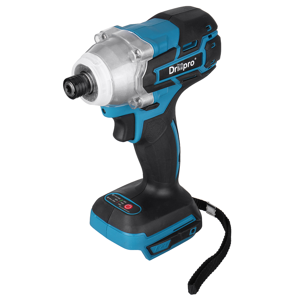 Tools : 18V Cordless Brushless Electric Screwdriver Speed Impact Wrench 1 4 inch Rechargable Drill Driver  LED Light For Makita Battery