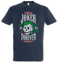 Joker Forever T-Shirt Hyrule Gaming Fun Games Gamer Skull Batman Gotham(China)