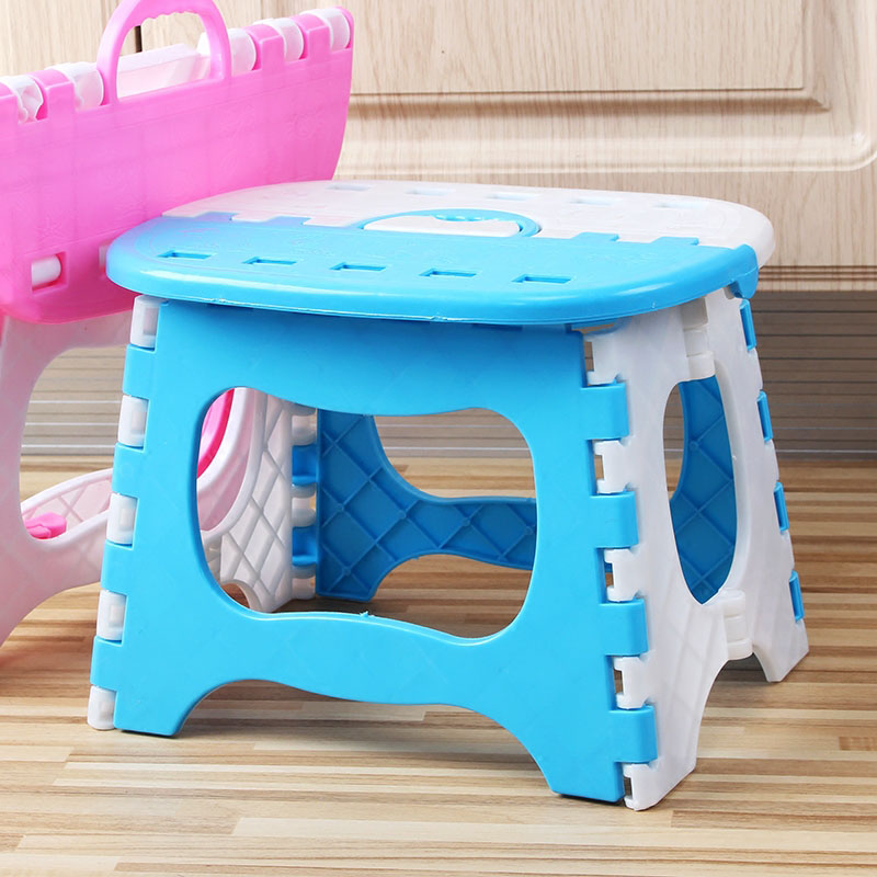 Folding Step Stool Lightweight Sturdy Support Adults Kids For Kitchen Bathroom Bedroom PI669