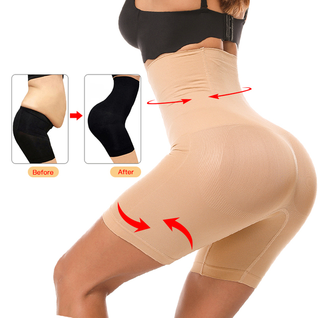 Slimming Cream Seamless Women High Waist Slimming Tummy Control Knickers Pant Shapewear Underwear Body Shaper Slimming Product 2