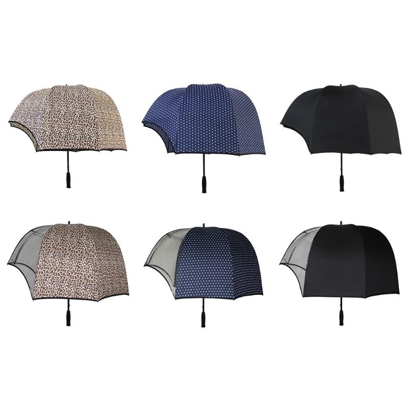 Windproof Helmet Shaped Dome Umbrella, Couple Dome Parasol,Vibrating Helmet Reverse hat Transparent Golf Umbrella