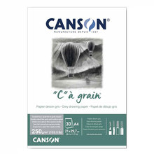 France Canson Sketchbook A4 Sketch Paper For Students With Color Paper Professional Charcoal Hand-Painted Book A3