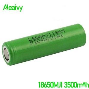 2020 100% original 18650 bateria lg 3500 mah 3.7v bateria recarregável para lg 18650mj1 bateria de lítio 3.7v 3500 mah