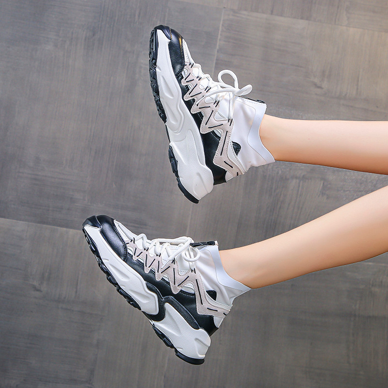 Fashion Women Shoes Non Slip Sneakers Women's Vulcanize Shoes Basket Femme Womens Casual Shoes Chunky Sneakers Zapatillas Hombre