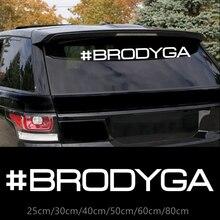 CK2978# #BRODYGA reflective funny car sticker vinyl decal car auto stickers for car bumper/rear window car decoration