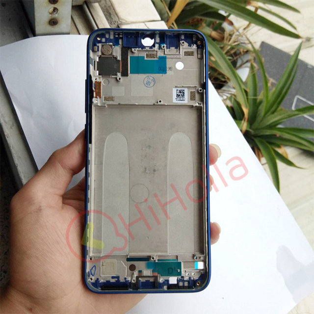 Front Frame For Xiaomi Redmi 7 Middle Frame Bezel Redmi7 Middle Housing Chassis Note7 Faceplate Replace Redmi Note 7 Front Frame