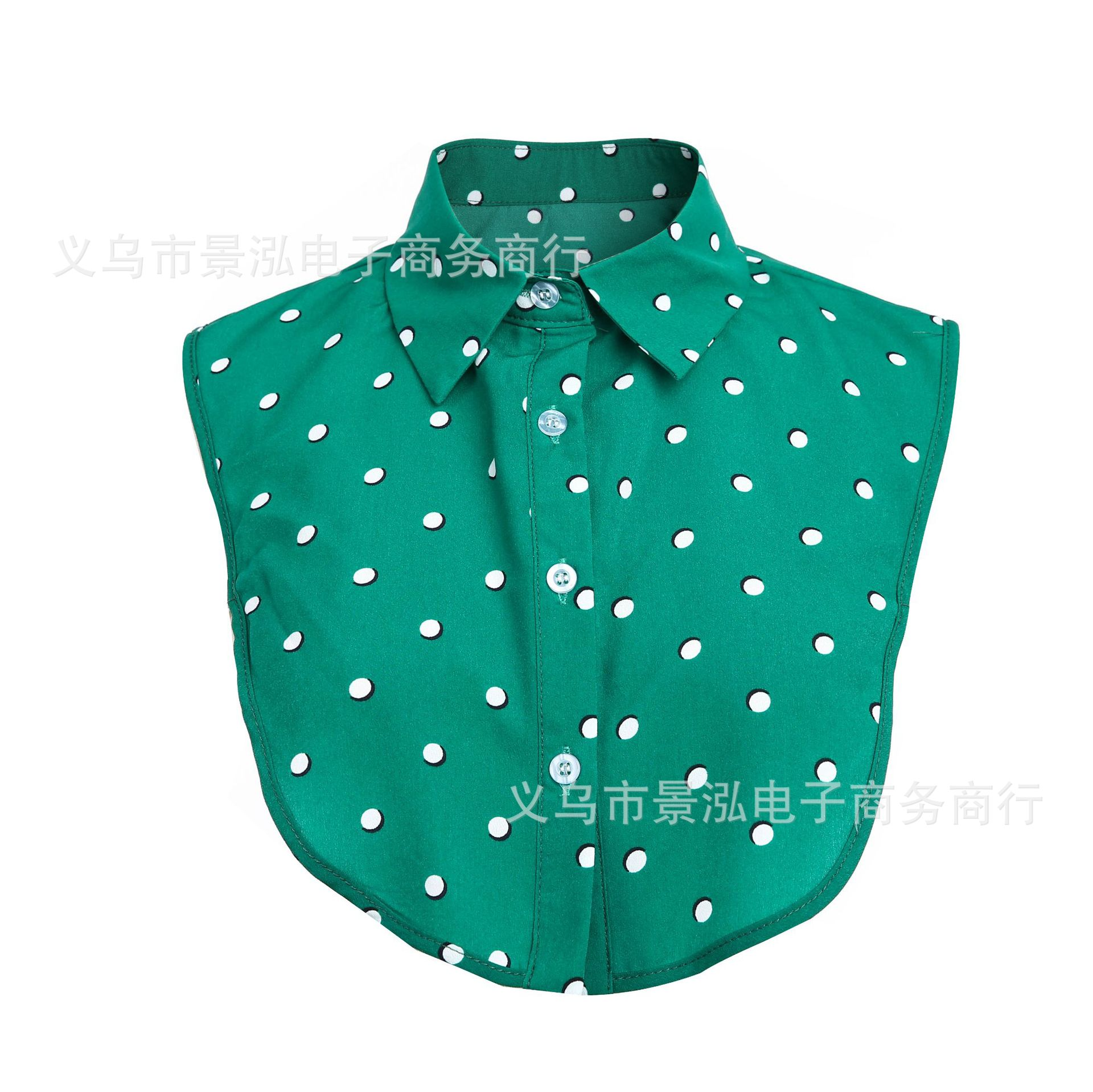2019 Europe And America Dotted Polo New Style Fake Collar Collar Small Collar Small Clothes Small Underwear