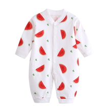 Autumn Toddler Baby Clothes Long Sleeve Cotton Infants Girls Clothing Romper Casual Costume Ropa Newborn Boy Girl Jumpsuit 3-12M цена 2017