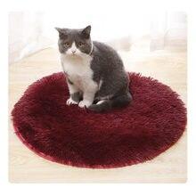 Многоразовые коврики для собак кровати домашних животных плюшевые