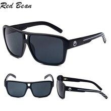 Square Sunglasses Men Brand Designer Mirror Driving Sun Glas