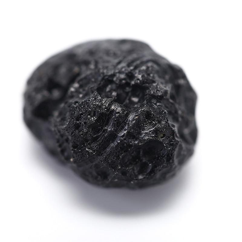 1 шт. натуральный Тайский стеклянный метеорит, оригинальный каменный минерал, образец Diy, камень, подвеска, аксессуары, энергетический камен...