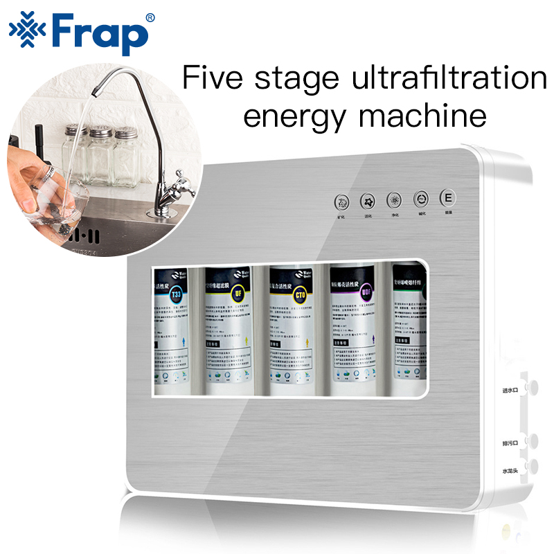 Frap Kitchen Purifier Water Filters System Replacement Filter Drinking Ultrafiltration System Under-Sink Countertop Filtration