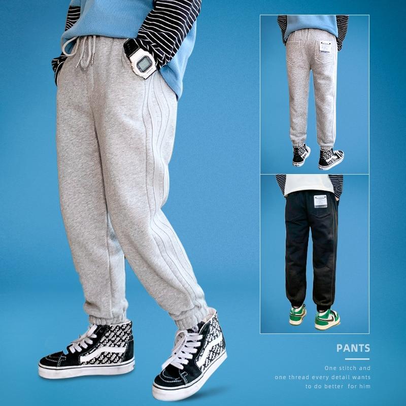 Boys Elastic-Waist Comfortable Pants