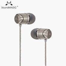 SoundMAGIC E11 in ear oortelefoon zonder microfoon zware bas HIFI muziek oortelefoon voor ipod mp3 speler