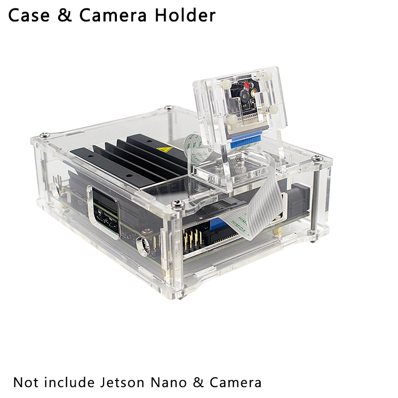 Acrylic Camera Holer For Nvidia Jetson Nano 8MP IMX 219 77 Degree Camera Support Install On Acrylic Case