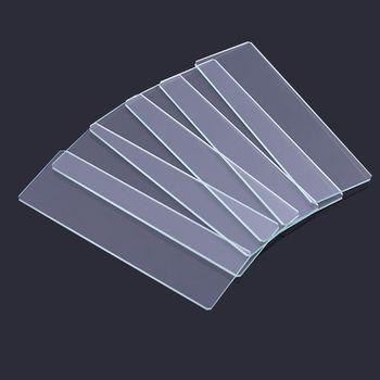 50 sztuk 7101 polerowane szkiełka podstawowe do przygotowania próbki szklanej pokrywy zrazy przyrządy optyczne akcesoria mikroskopowe tanie i dobre opinie OOTDTY CN (pochodzenie) 896B1AA801938-1 Inne