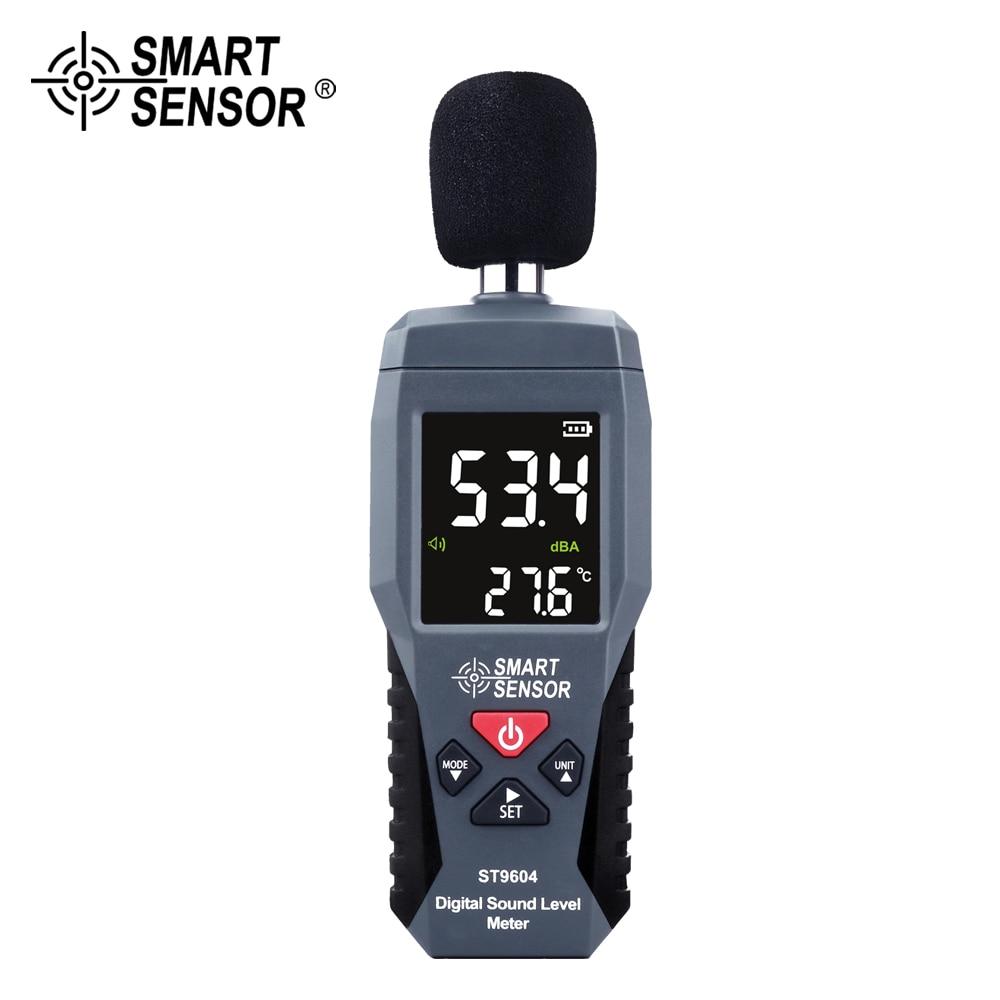 Цифровой измеритель уровня звука измерение уровня шума 30-130дб дБ, децибел-детектор аудио-тестер Metro диагностический инструмент умный датчик...