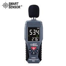 Medidor de ruído de nível de som digital medição 30-130db decibel detector de áudio testador metro diagnóstico-ferramenta inteligente sensor st9604