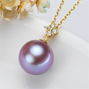 Retro Hollow Style Metal Yellow gold G18K Tone Bail Connector Pearl Bead Caps Diy Pearl Jewelry Accessories