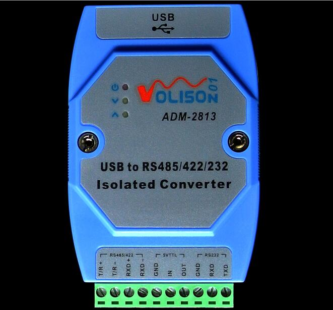 ADM-2813 Industrial Grade USB To RS485/422/232/TTL USB To 485232 Photoelectric Isolation FT232 Rail