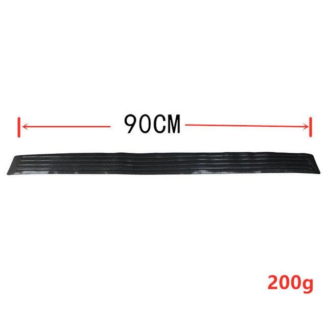 90/104 см автомобильный бампер из углеродного волокна для багажника